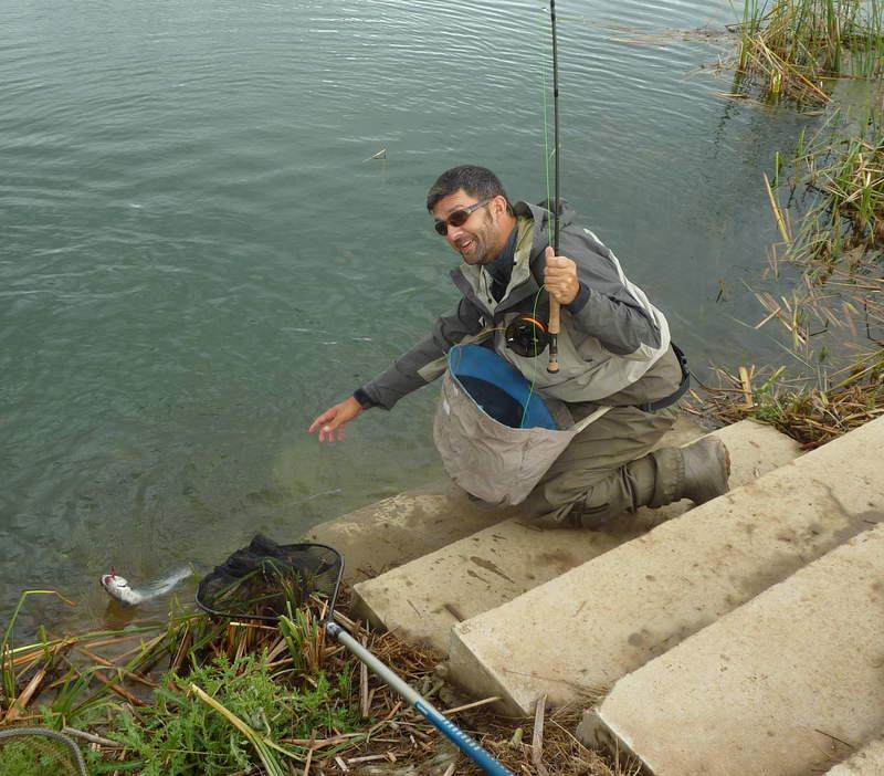 Pesca en lagos intensivos